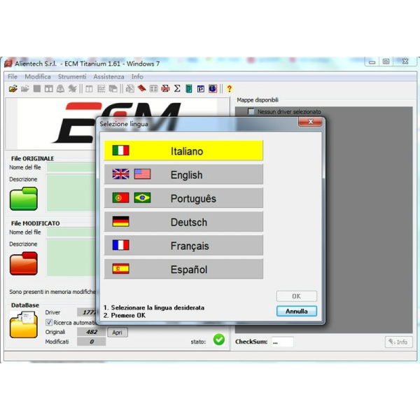 ECM TITANIUM V1.61 with 18475 Driver Send by CD