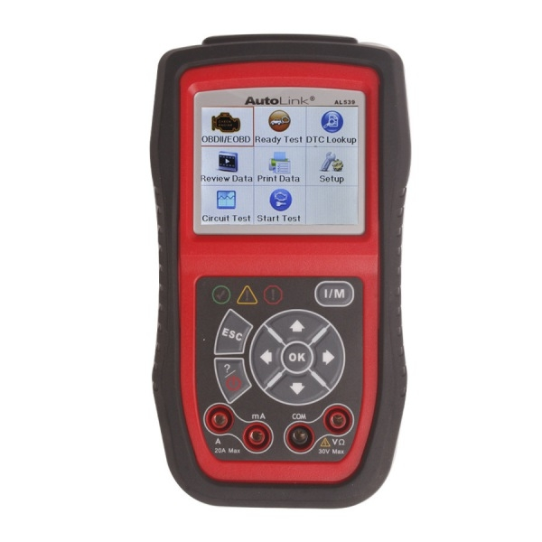 Original Autel AutoLink AL539 OBDII/CAN SCAN TOOL Internet Update