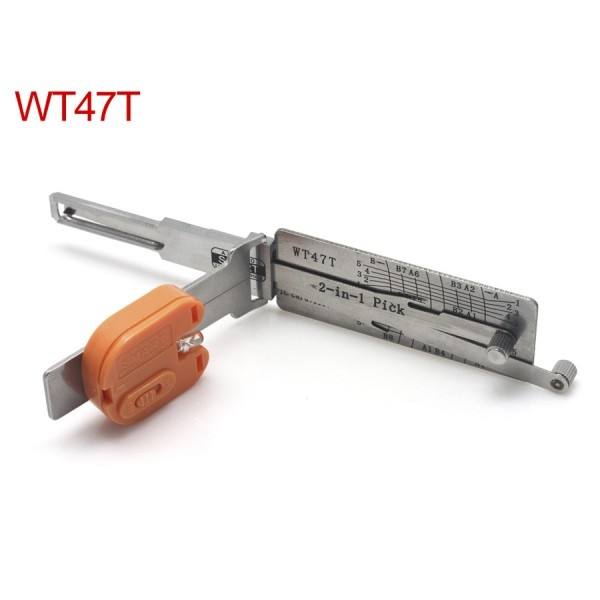 Auto Smart WT47T 2 in1 Decoder and Pick Tools (Suitable for Saab)