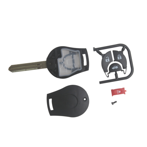 March Remote Key Shell 4 Button for Nissan 5pcs/lot