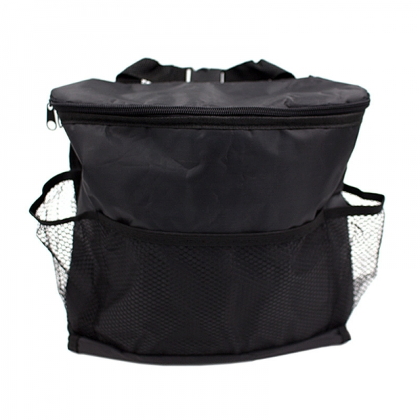 Car Food Storage Container Stowing Tidying Mesh Pocket Back Seat Cover Hanging Bag