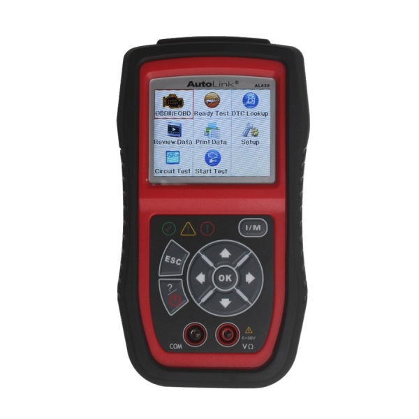 Autel AutoLink AL439 OBDII/CAN And Electrical Test Tool